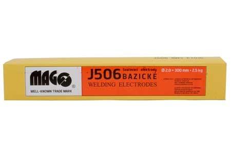 Bazické elektrody J506/2,0x300/2,5kg MAGG