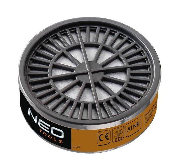 Filtr A1 NR-organické plyny a páry, do masky-NEO tools 97-360