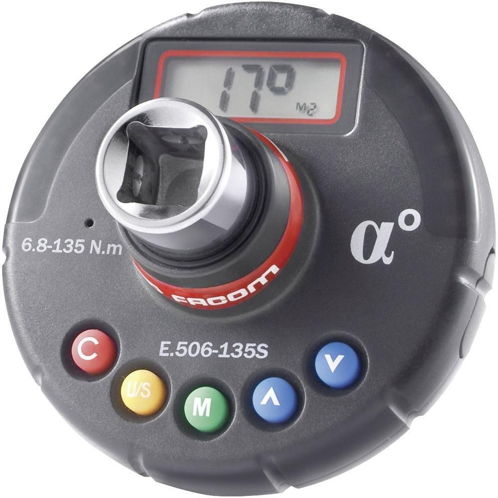 Digitální momentový-úhlový adaptér 135 NM-Facom E.506-135S