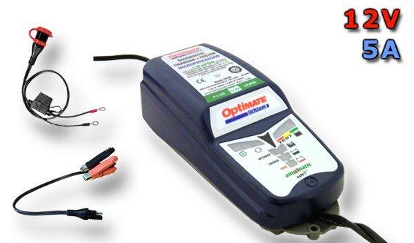 Automatická nabíječka OPTIMATE Lithium (12v/5A) - TecMate TM290
