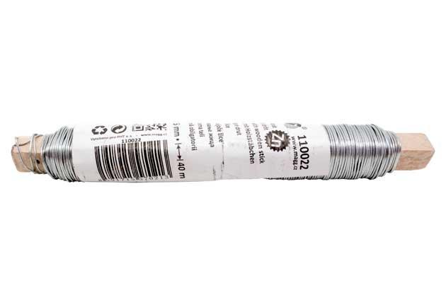 Vázací drát Zn 0,65 mm 100 g, 37 m