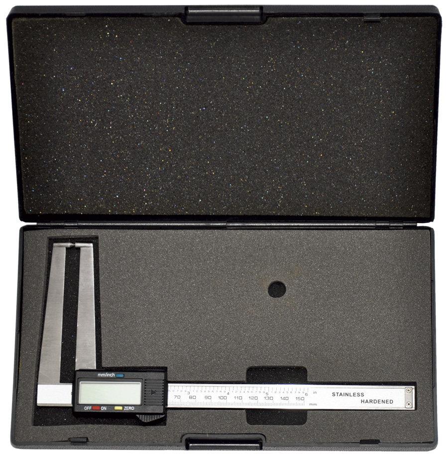 Digitální posuvné měřítko na brzdové kotouče - Genborx B-1215