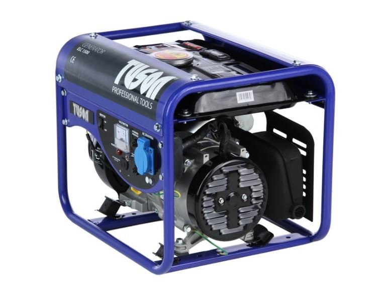 Benzínová elektrocentrála 1000W OHV, AVR, jednofázová - TUSON  ELC1500