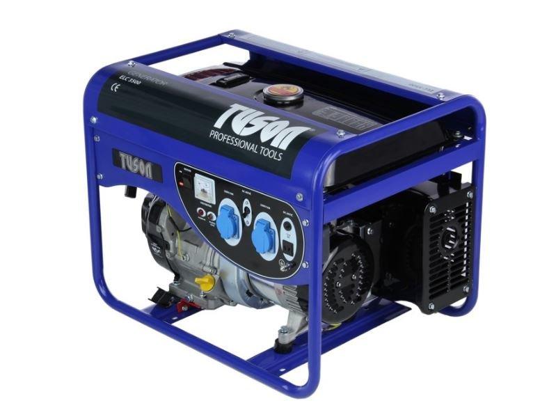 Benzínová elektrocentrála 2800W OHV, AVR, jednofázová - TUSON ELC3500