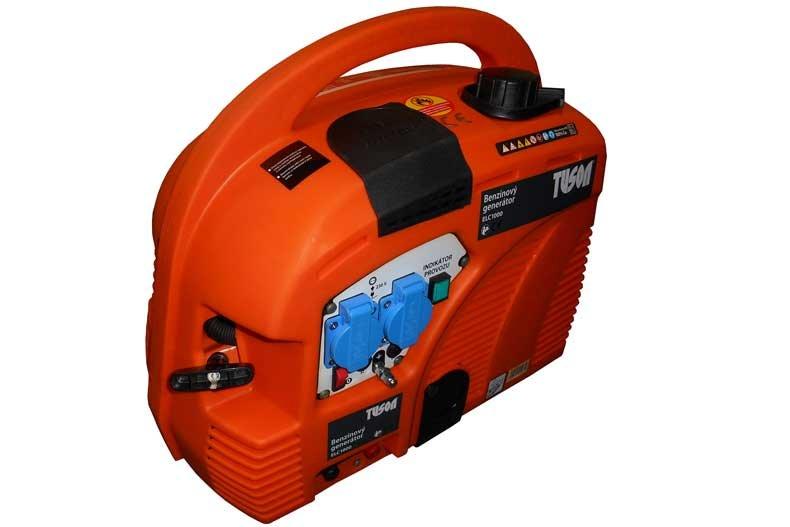 Benzínová elektrocentrála 800W OHV, AVR, jednofázová - TUSON ELC1000