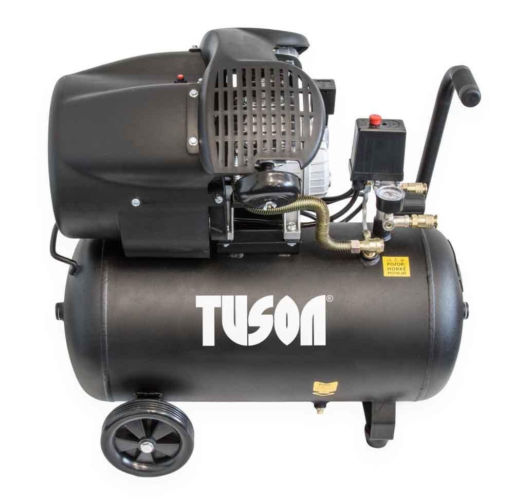 Olejový kompresor dvoupístový 2,2kW; 3,0HP; 50l - TUSON  130024