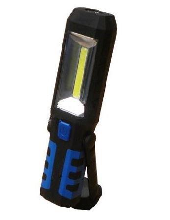 Dílenská LED svítilna s akumulátorem 230/12V