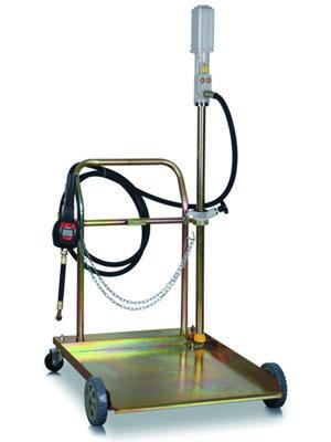 Pojízdná olejová výdejní souprava pro sudy 180 – 200 kg - Ferdus 25.40