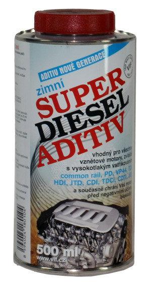 Aditivum do paliva SUPER DIESEL ADITIV zimní 500ml - VIF