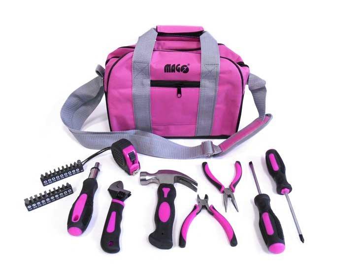 Sada nářadí pro ženy 28 dílů + přenosná taška - MAGG LADYBAG
