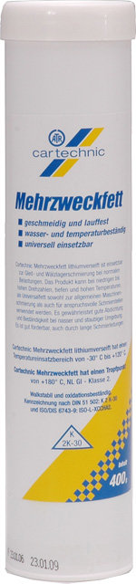Mazací vazelína v kartuši 400g - Cartechnic