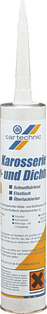 Karosářský tmel bílý 310 ml - Cartechnic
