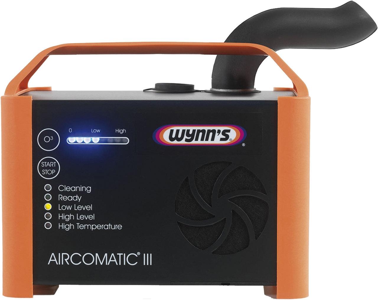 Ultrazvukový přípravek pro čištění klimatizací a interiéru AIRCOMATIC®III