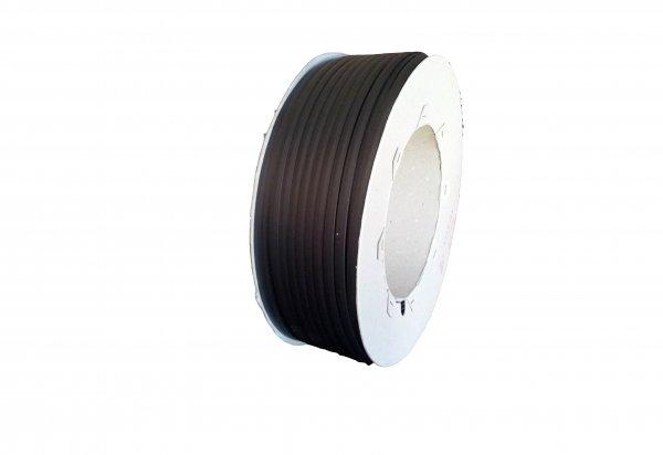 Svářecí drát, plast ABS - páska 2x7mm, plochý, černý