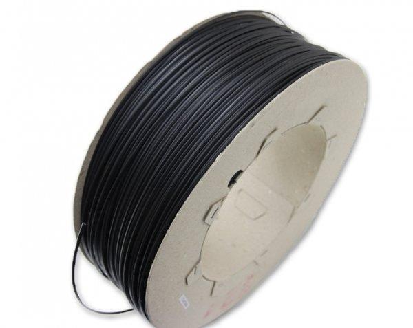 Svářecí drát, plast PE tvrdý 5mm černý
