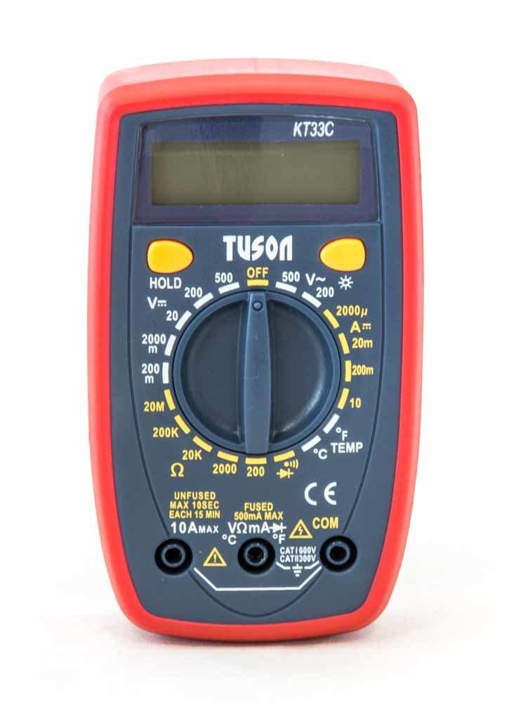 Digitální multimetr - TUSON KT33C