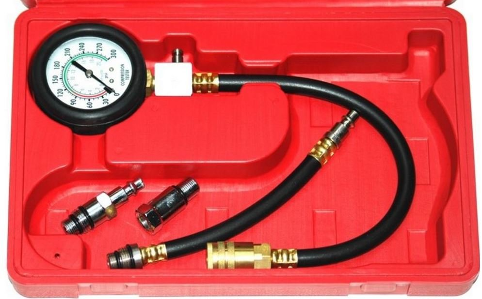 Tester tlaku komprese ve válcích 0-20 bar