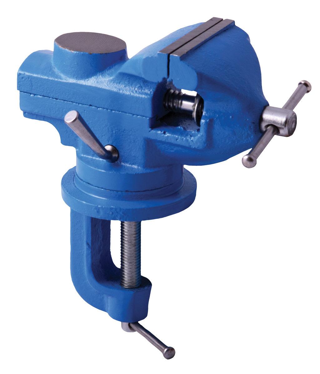 Otočný dílenský svěrák, malý 60mm - MAGG  30702260