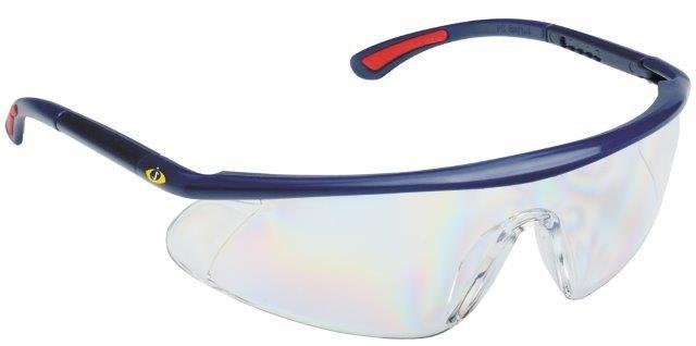 Nastavitelné ochranné brýle s čirým zorníkem