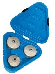 Nástrčné klíče na olejové filtry, sada 3 kusů - QUATROS QS60209