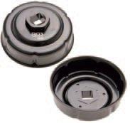 Hlavice na povolování olejových filtrů- 76 mm x 6 - drážek BGS 8539