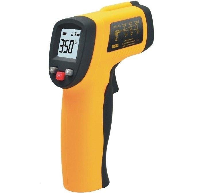 Infračervený laserový bezdotykový teploměr -50°C až +380°C