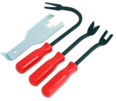 Sada přípravků na demontáž čalounění a klik dveří - QUATROS QS14576