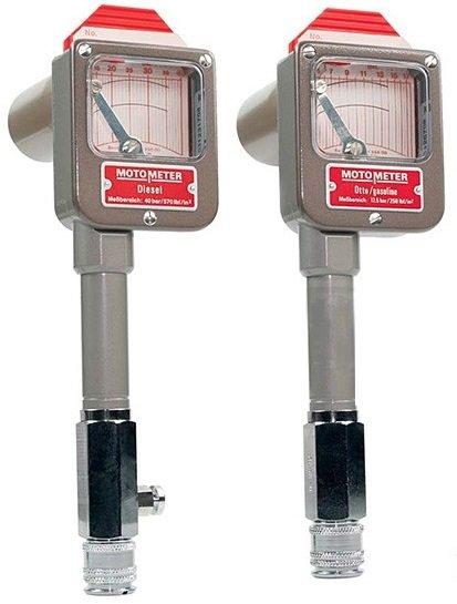 Registrační kompresiometry pro zážehové i vznětové motory MotoMeter