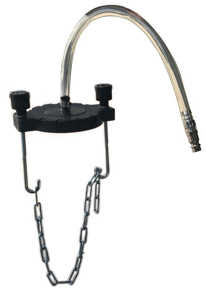 Adaptér pro plnění brzdové kapaliny, na expanzní nádržku, univerzální - ASTA