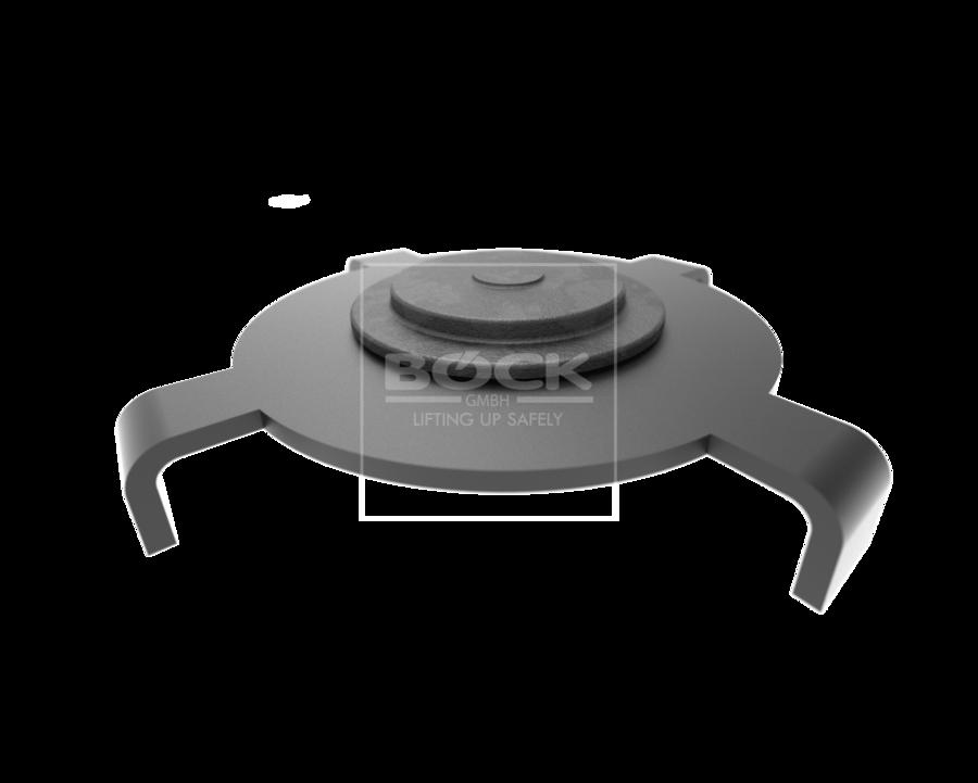 Adaptér pro zvedání vozů Tesla 3, střední, pro dvousloupové a nůžkové zvedáky