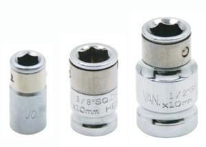 Adaptéry pro 6hranné bity, různé velikosti - JONNESWAY