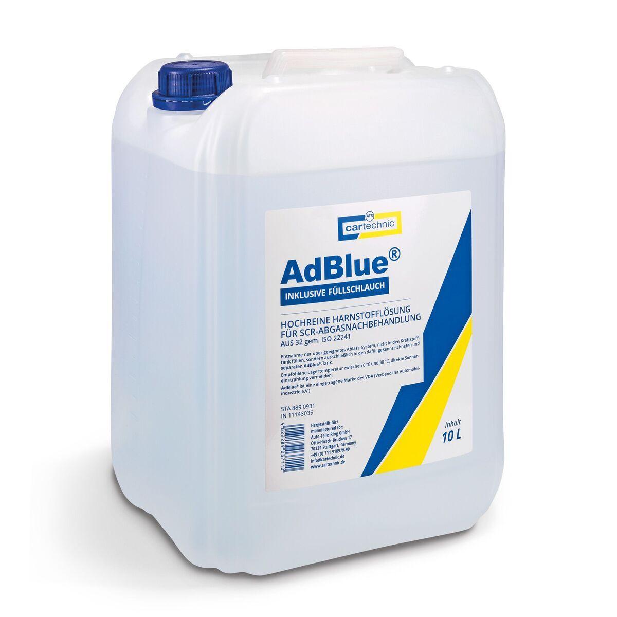 AdBlue - katalytické činidlo SCR, 10 litrů - Cartechnic