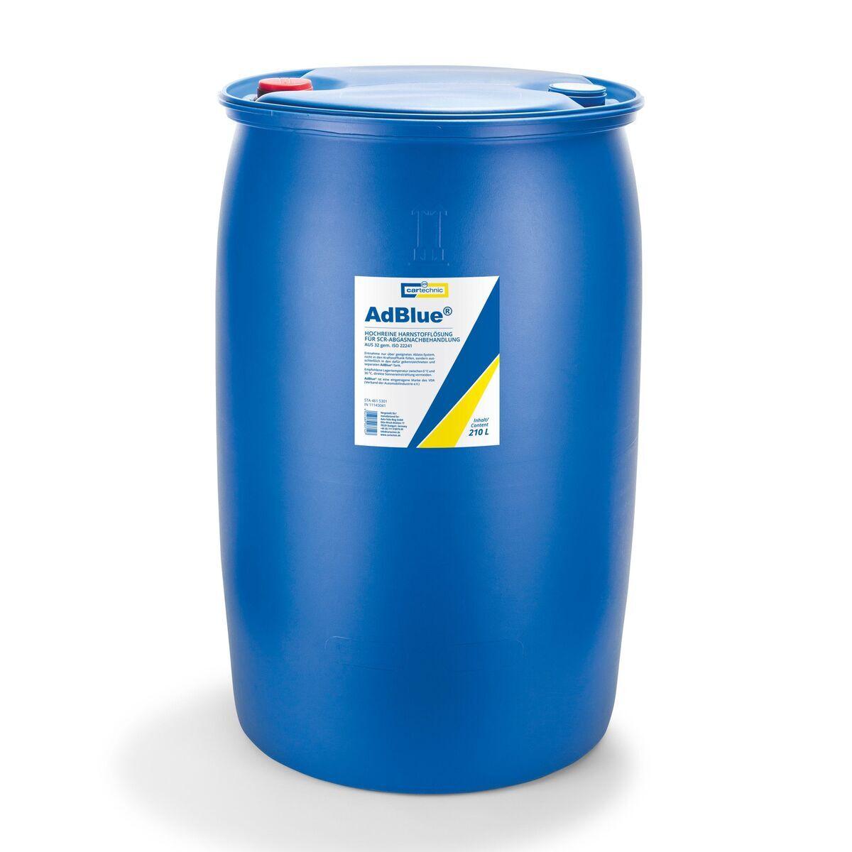 AdBlue - katalytické činidlo SCR, 210 litrů - Cartechnic