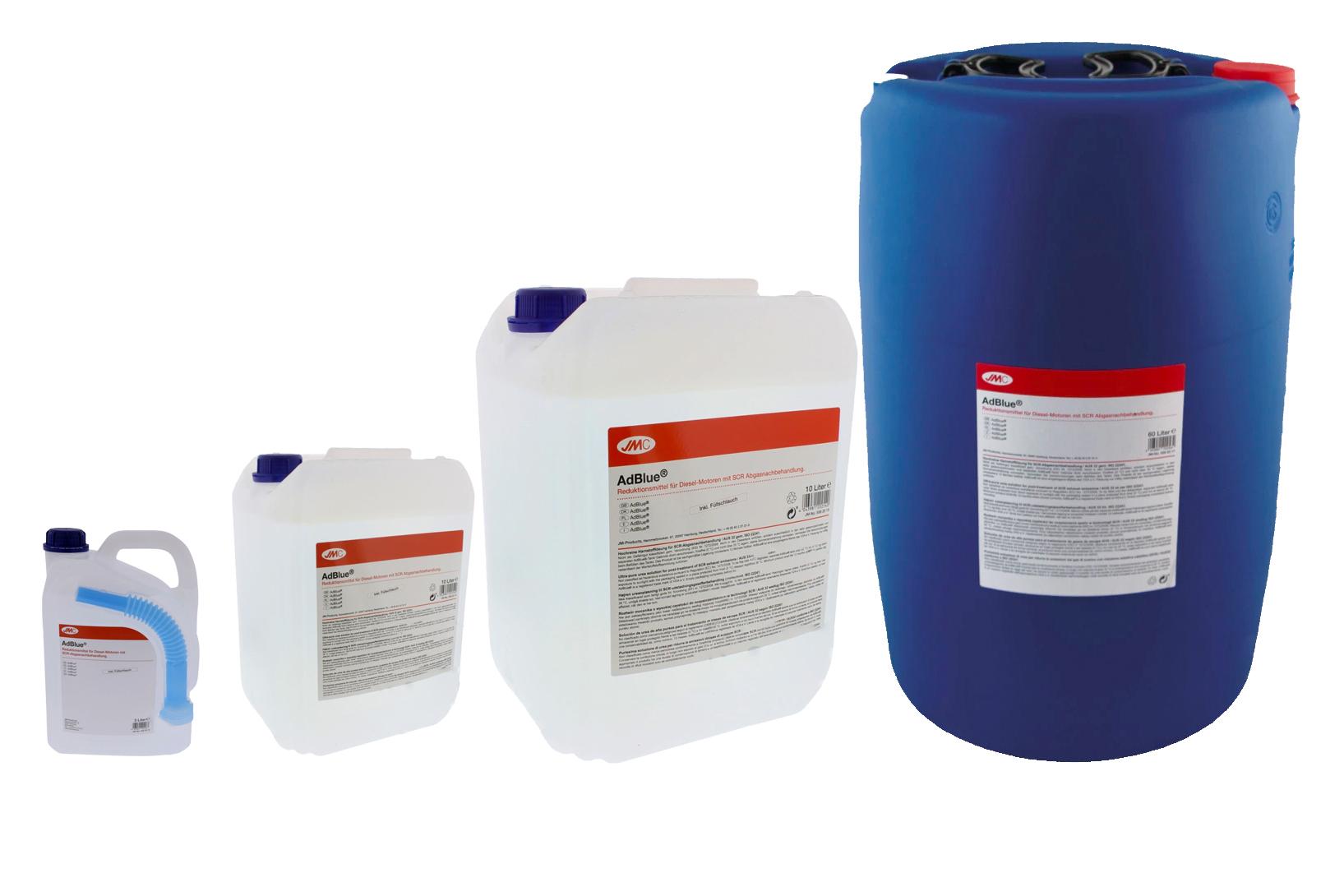 "AdBlue - katalytické činidlo SCR ""močovina"" - různé objemy"