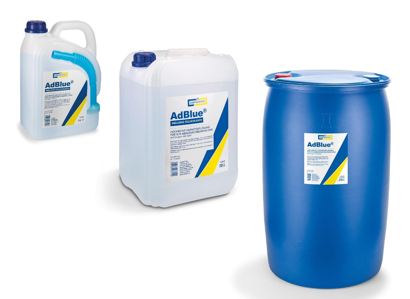 AdBlue - katalytické činidlo SCR, různé objemy - Cartechnic