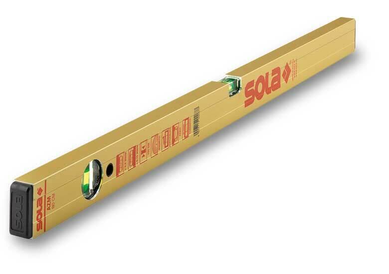 Vodováha profilová 150 cm - SOLA AZM