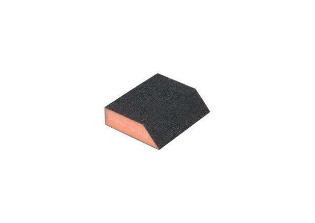 Brusná houbička zkosená 58/83 x 100 x 25 mm, zrnitost 100