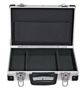 Kufr na nářadí 330 x 210 x 90 mm, hliníkový