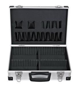 Kufr na nářadí 380 x 260 x 120 mm, hliníkový
