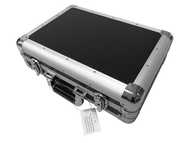 Kufr na nářadí ALUMATE, 450 x 320 x 140 mm, hliníkový, protipožární deska
