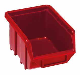 Plastový box 110 x 170 x 76 mm, červený