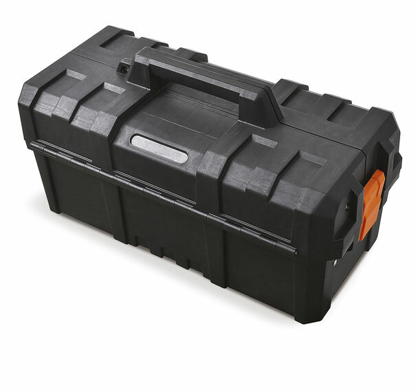 Kufr - basa na nářadí 470x230x245 mm, rozkládací, plast