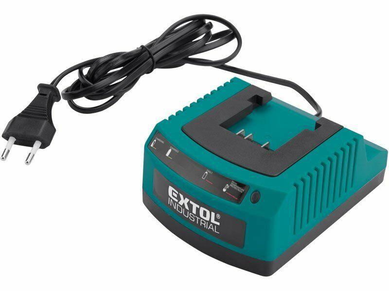 Nabíječka baterií 3-5 hod, pro aku nůžky na živé ploty EX8795600 - EXTOL INDUSTRIAL