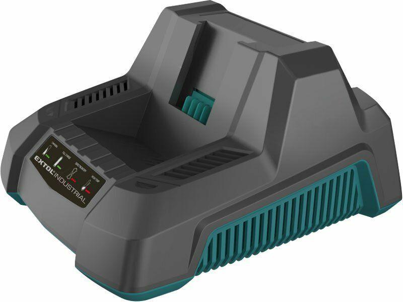 Rychlonabíječka baterií 90 min, pro aku nůžky na živé ploty EX8795600 - EXTOL INDUSTRIAL