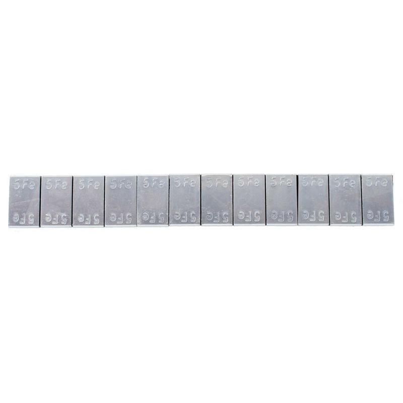 Samolepicí závaží FAH5-100 - pevnější lepicí páska, 12 x 5 g - 100 kusů - Ferdus 13.61