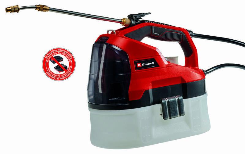 Aku tlakový postřikovač GE-WS 18/35 Li-Solo, nádrž 3,5 litru - Einhell Expert