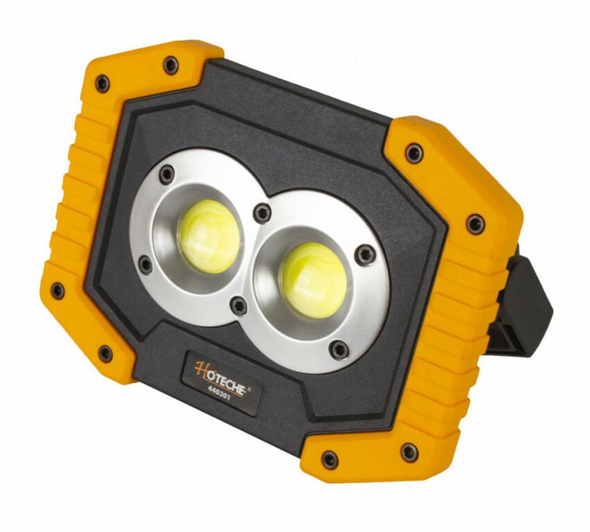 Dílenská lampa LED 10 W, nabíjecí USB - HOTECHE