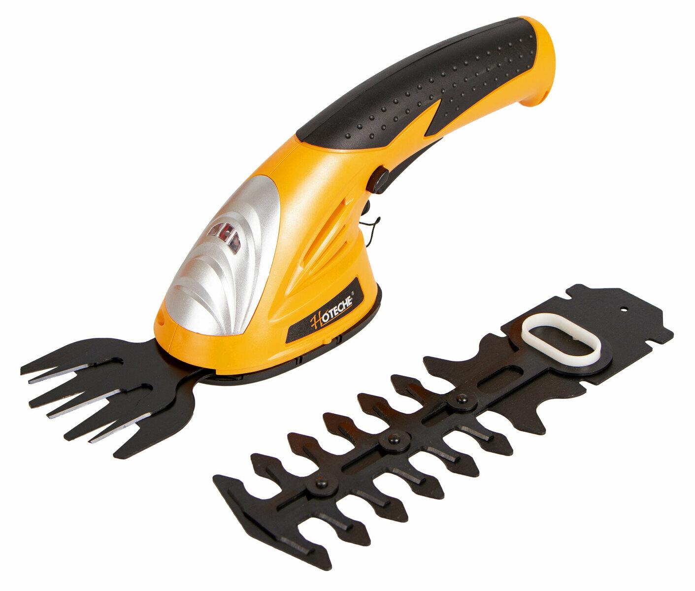 AKU nůžky na živý plot 7,2 V, s baterií a nabíječkou - HOTECHE