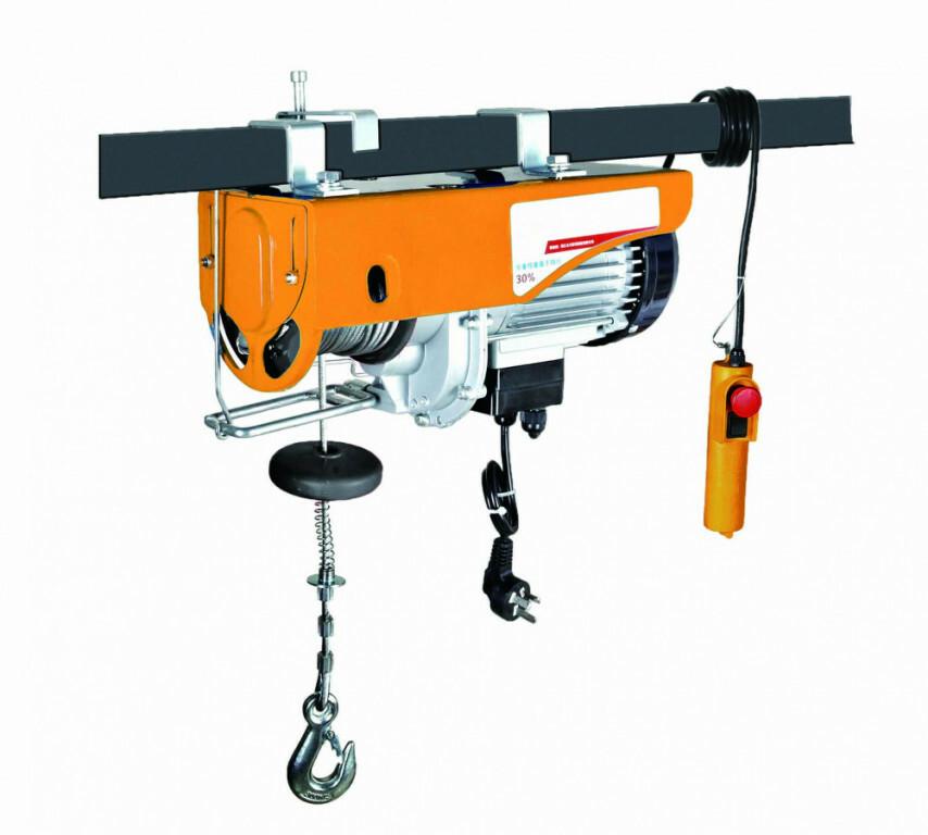 Elektrický lanový naviják 930 W, nosnost 250/500 kg - HOTECHE