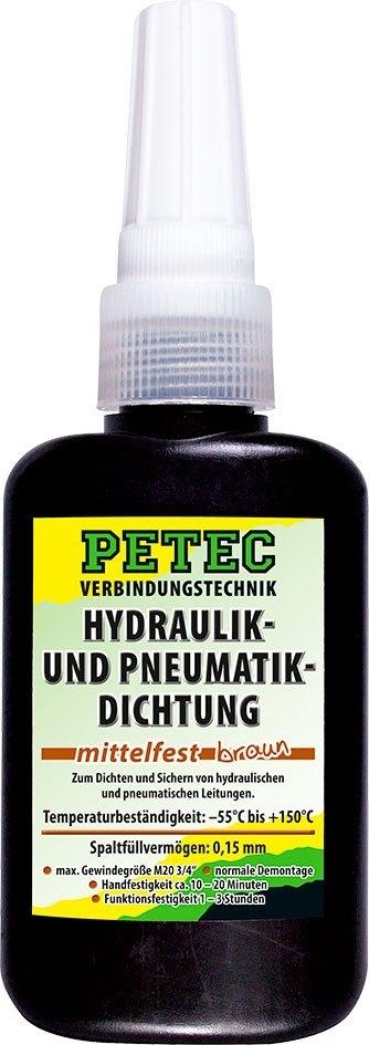 Hmota pro utěsnění pneumatických a hydraulických systémů, 50 ml - Petec